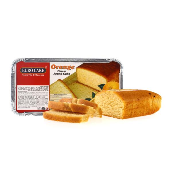 Euro Cake Orange Pound 323g
