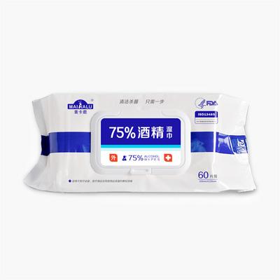 MAIKALU 75% Alcohol Disinfectant Wipes 60 sheets
