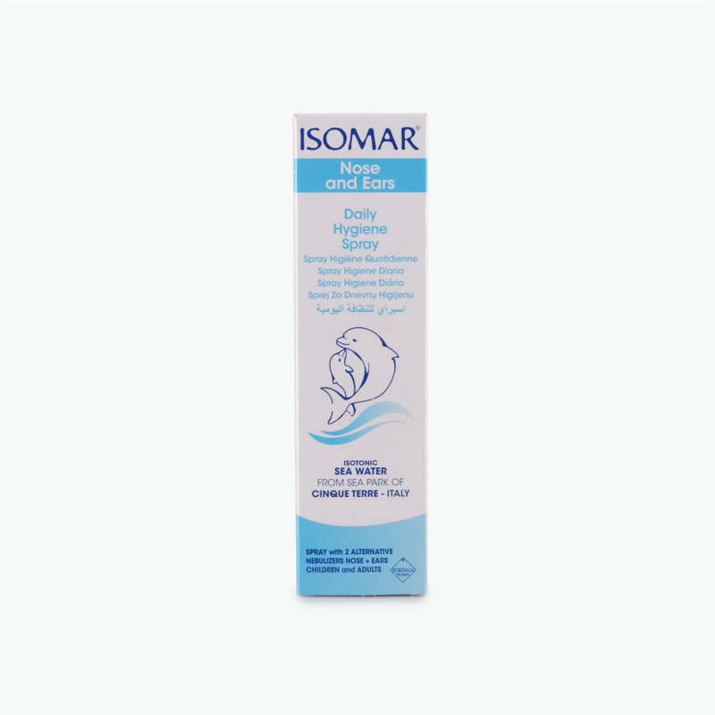 lsomar Dual Ear and Nose Daily Hygiene Spray 100ml