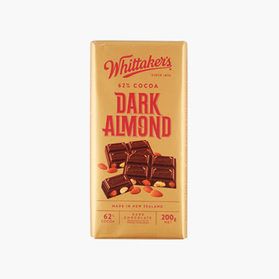 Whittaker´s, Dark Almond Chocolate 200g