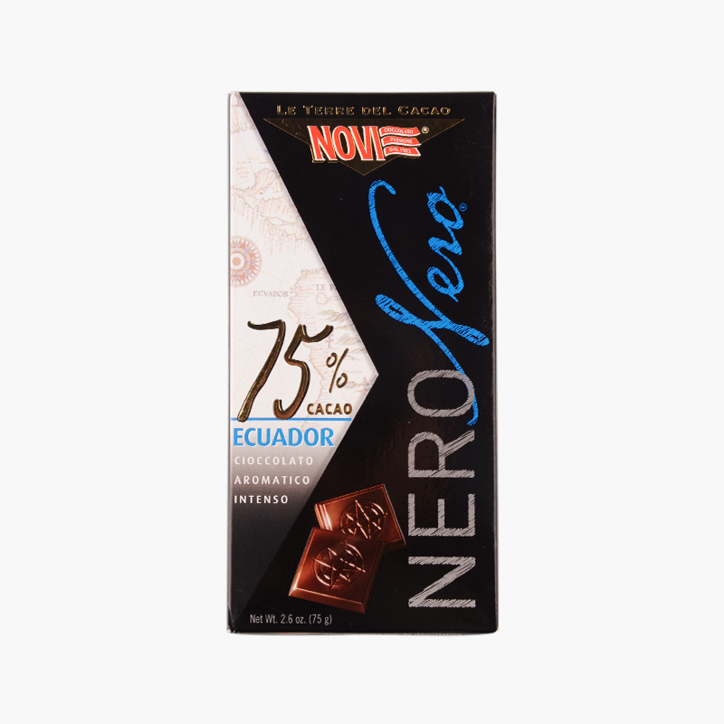 Novi Ecuador 75% Dark Chocolate 75g