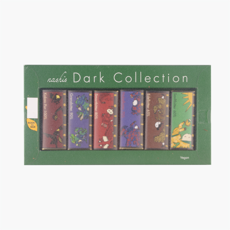 Zotter Dark Chocolate Collection, 6 x 2 pieces