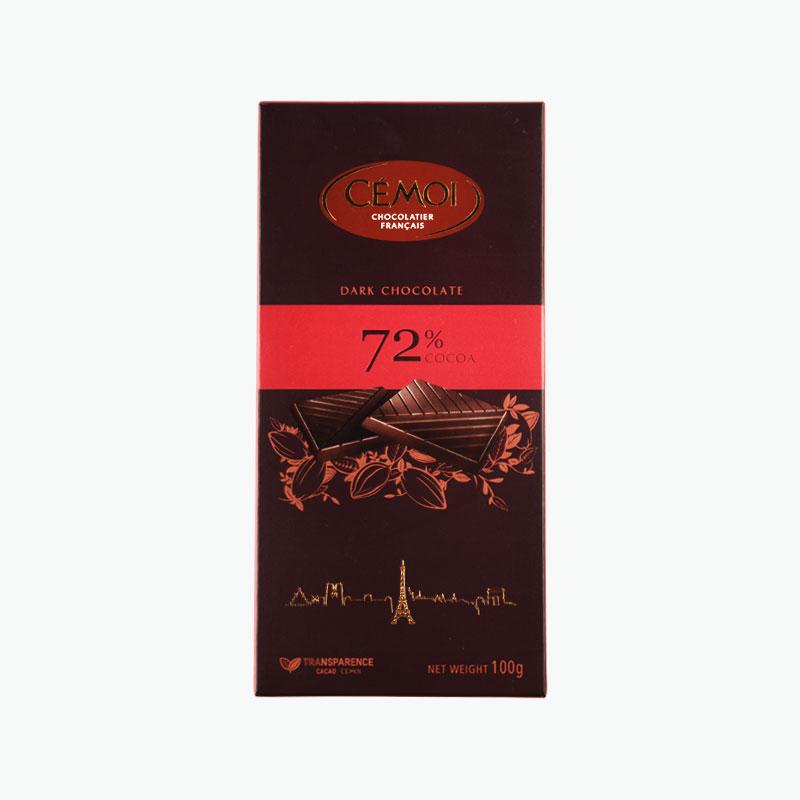 Cemoi, 72% Dark Chocolate 100g