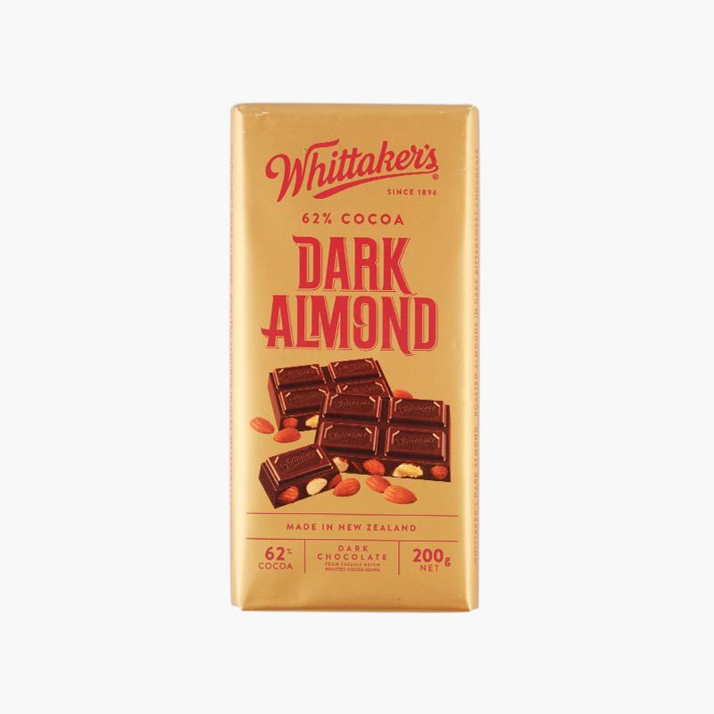 Whittaker´s, Dark Almond Chocolate 200g