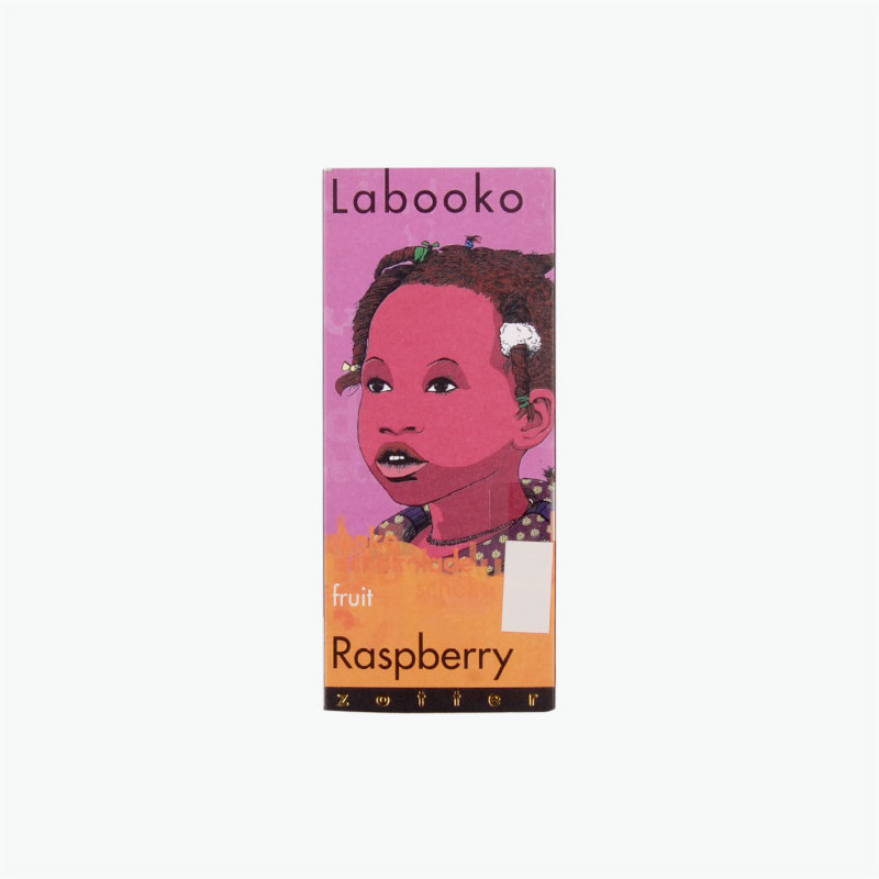 Zotter Labooko Raspberry Chocolate 70g