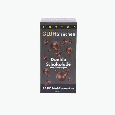 Lightbulbs Sugar-free Dark Chocolate 130g
