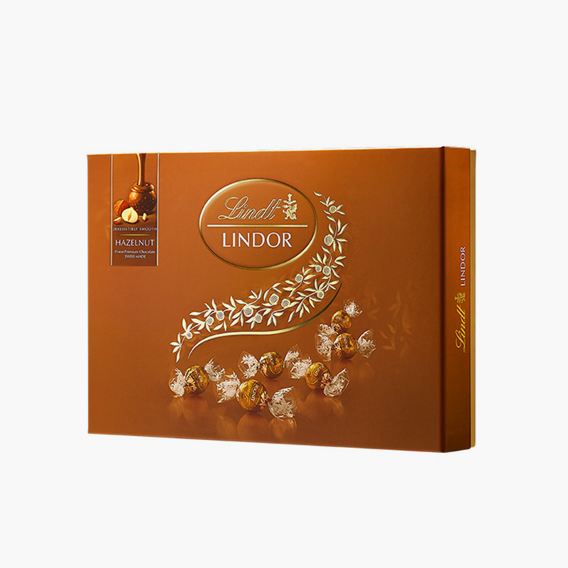 Lindt, 'Lindor' Chocolate Truffles Gift Set (Hazelnut) 168g