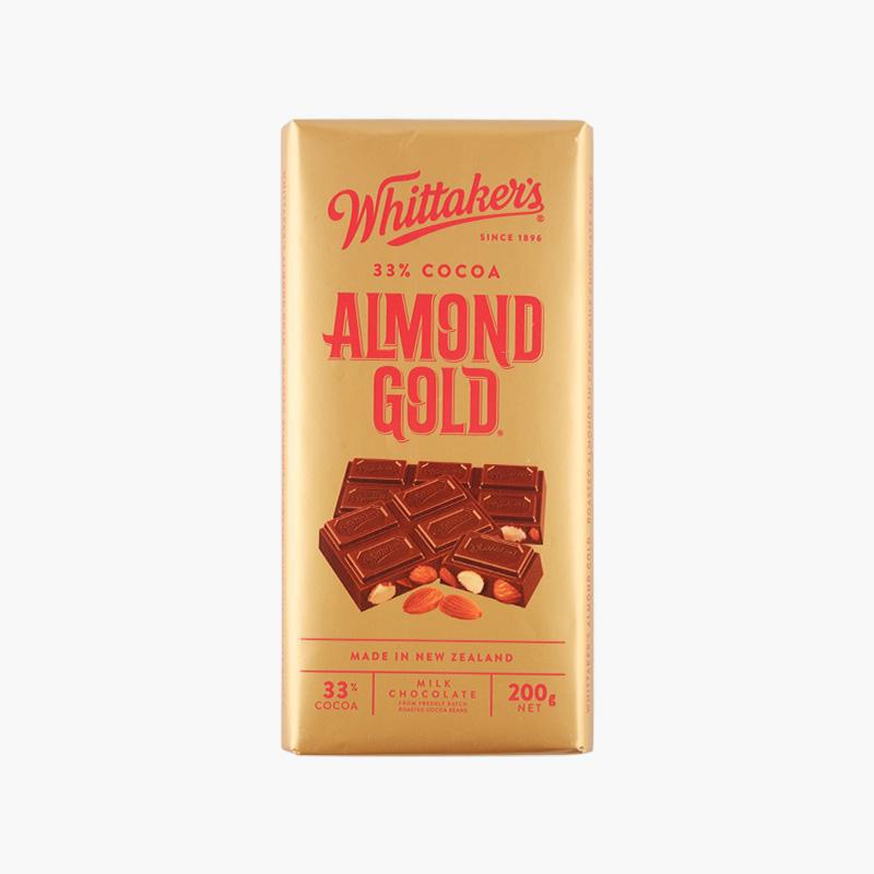 Whittaker´s, Almond Gold Chocolate 200g