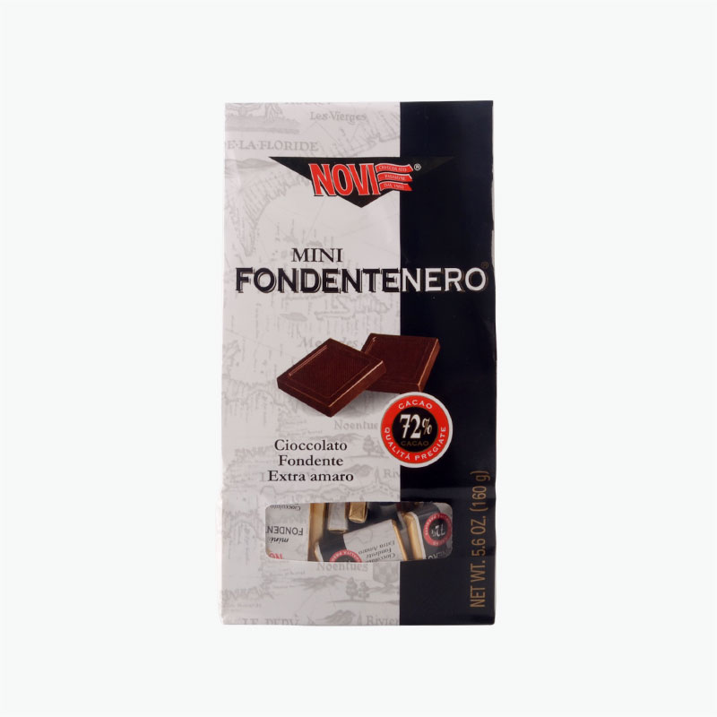 Novi Mini Dark Chocolates 72% 160g