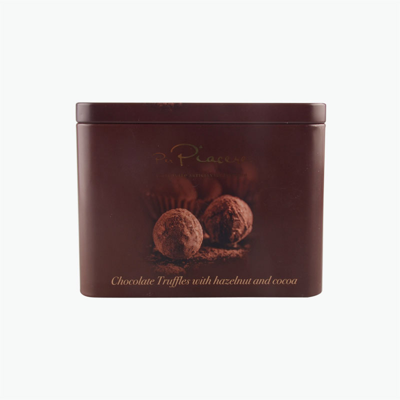 Per Piacere Chocolate Truffles With Hazelnut And Cocoa Gift 200g