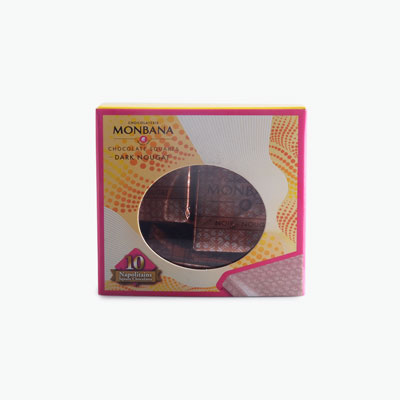 Monbana Mini Gift Box - Dark Nougat 40g