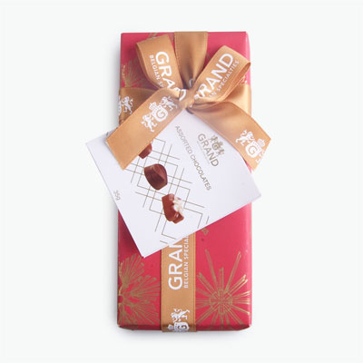Grand Wrapped Assorted Chocolate Gift Box 35g