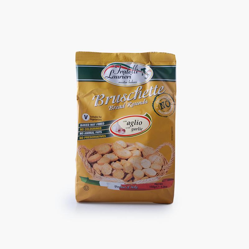 Fratelli Laurieri, Bruschetta Toasts (Garlic) 150g