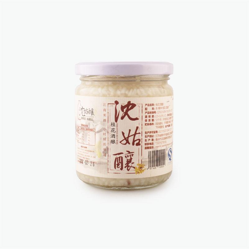 Shen Gu Niang Handmade Osmanthus  Fermented Rice Wine 450g