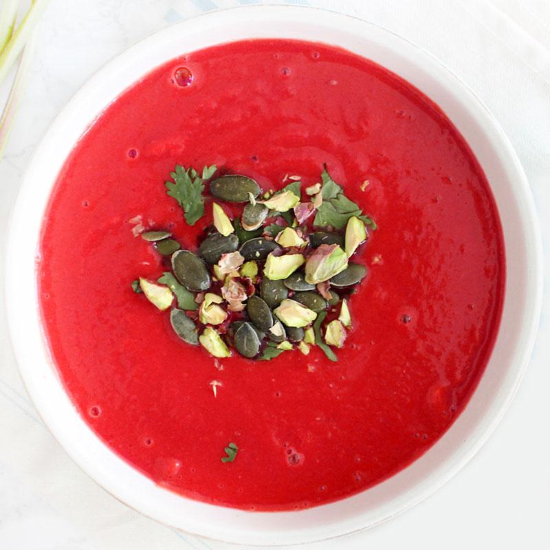 Beet Detox Soup Recipe Set