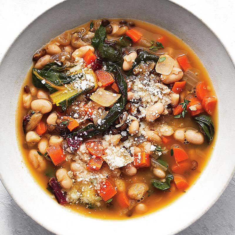 Detox Slow Cooker Pot Lentil Soup Recipe Set