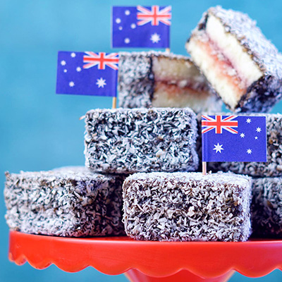 Lamingtons Recipe Set