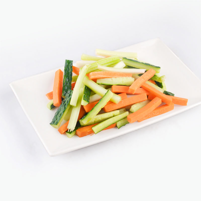 EperSelect Mixed Cucumber, Carrot & Celery Sticks Pre-washed 300g