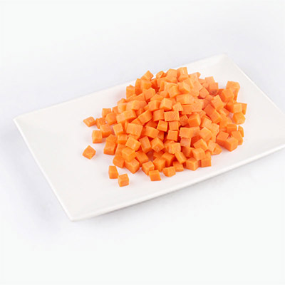 EperSelect Cubed Carrots Pre-washed 200g