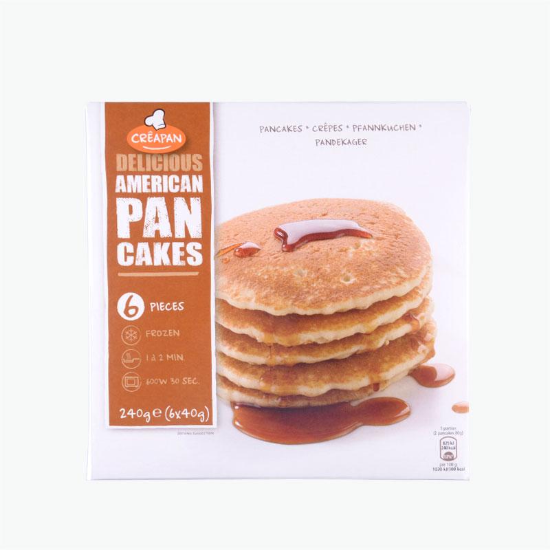 Creapan American Styled Pancakes (6 x 40g)