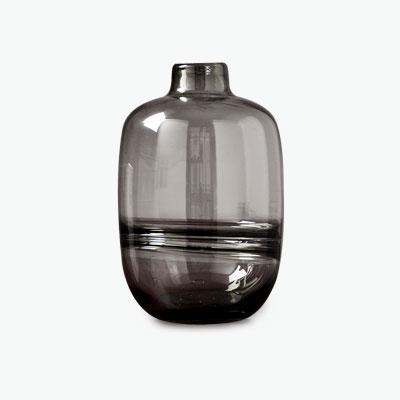 Glass Vase DxH=12x18cm