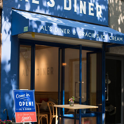 Al's Diner Restaurant  | Gracie's Burger Set | Worth RMB 115