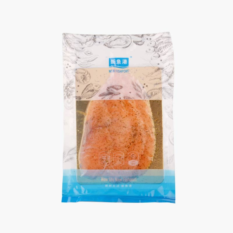 New Fishport Sliced Smoked Salmon With Dill 100g