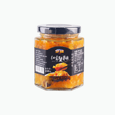 Mengjie Red Crab Paste 180g