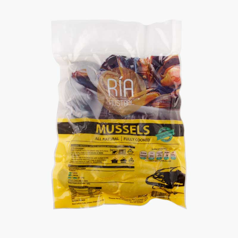 St.Andrews Mussels 500g