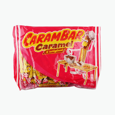 Carambar, Chewy Caramel Candies 320g