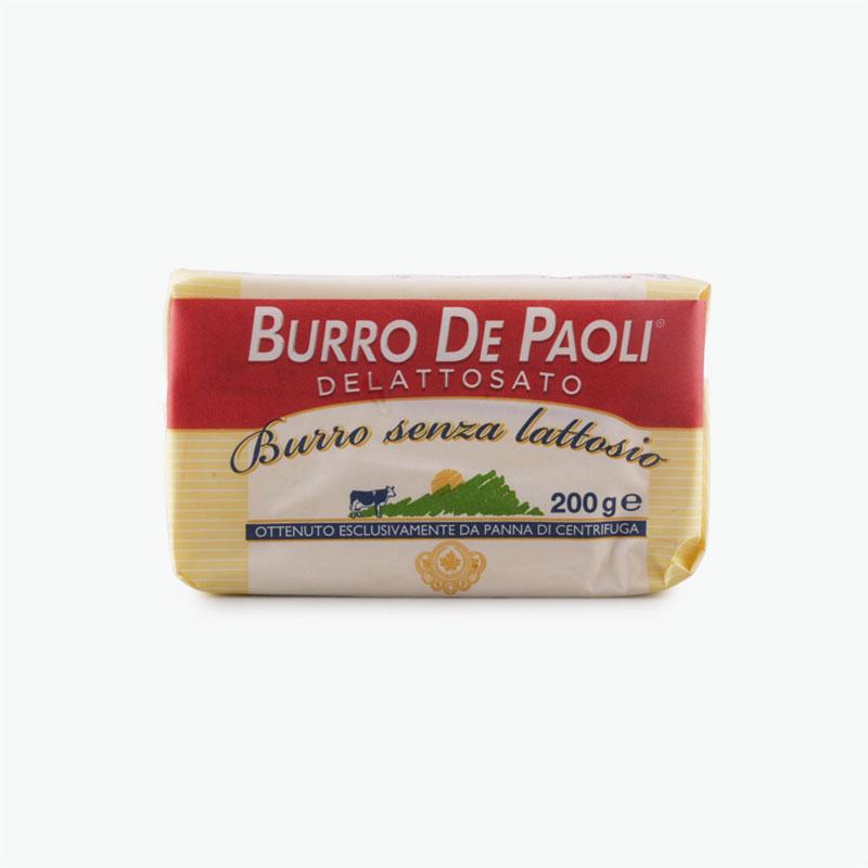 Burro De Paoli Lactose Free Butter 200g