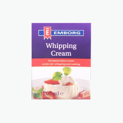 Emborg Whipping Cream 200ml