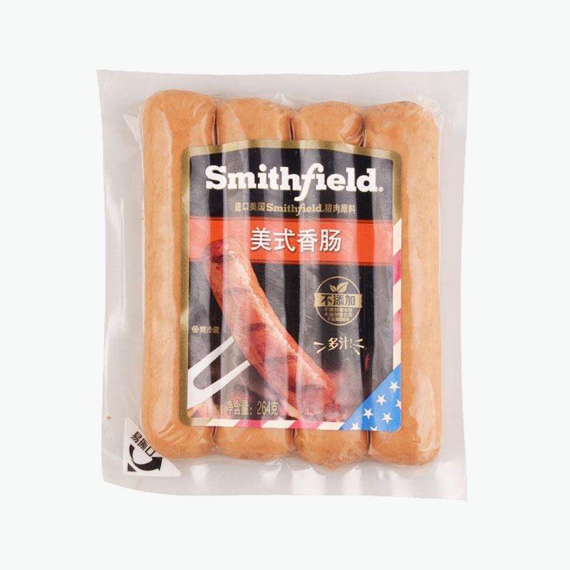 Smithfield American Style Sausages Original 264g