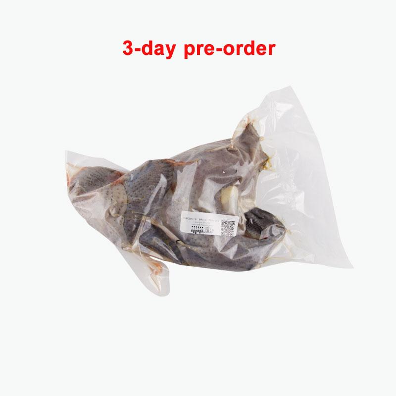 Longxin, Orangic Black Boned Chicken 240days 0.8~0.9kg