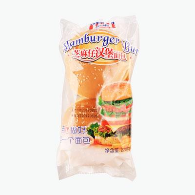 Mankattan Sesame Hamburger Bun x4 220g