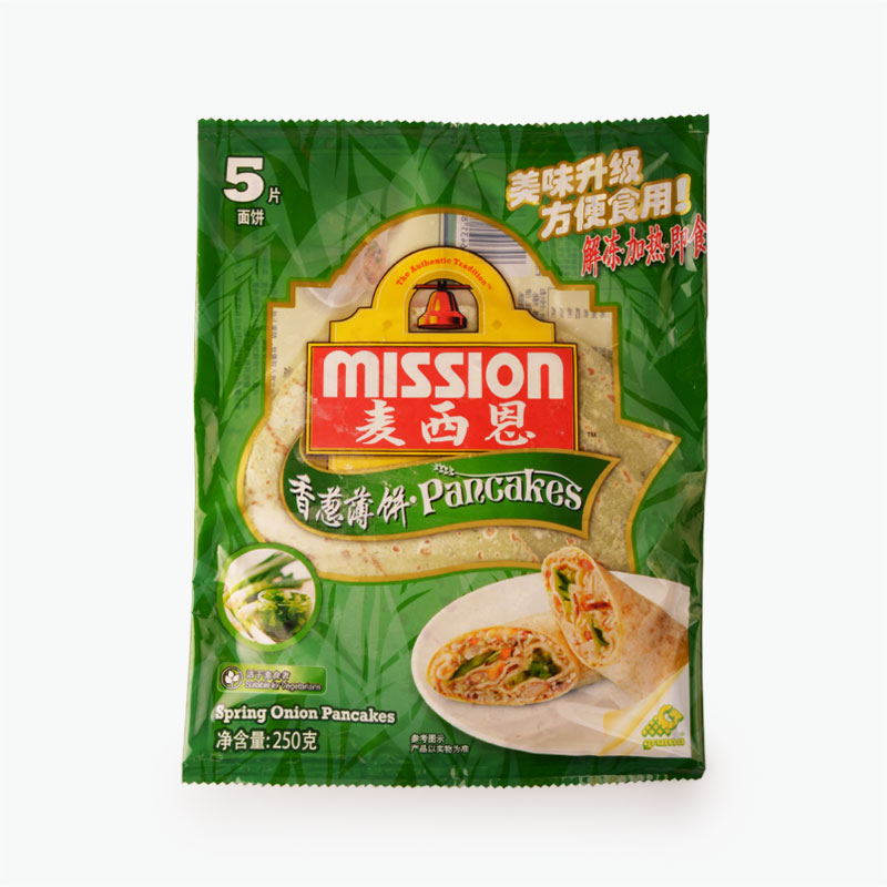 Mission, Small Spring Onion Wraps (Extra Thick) 250g