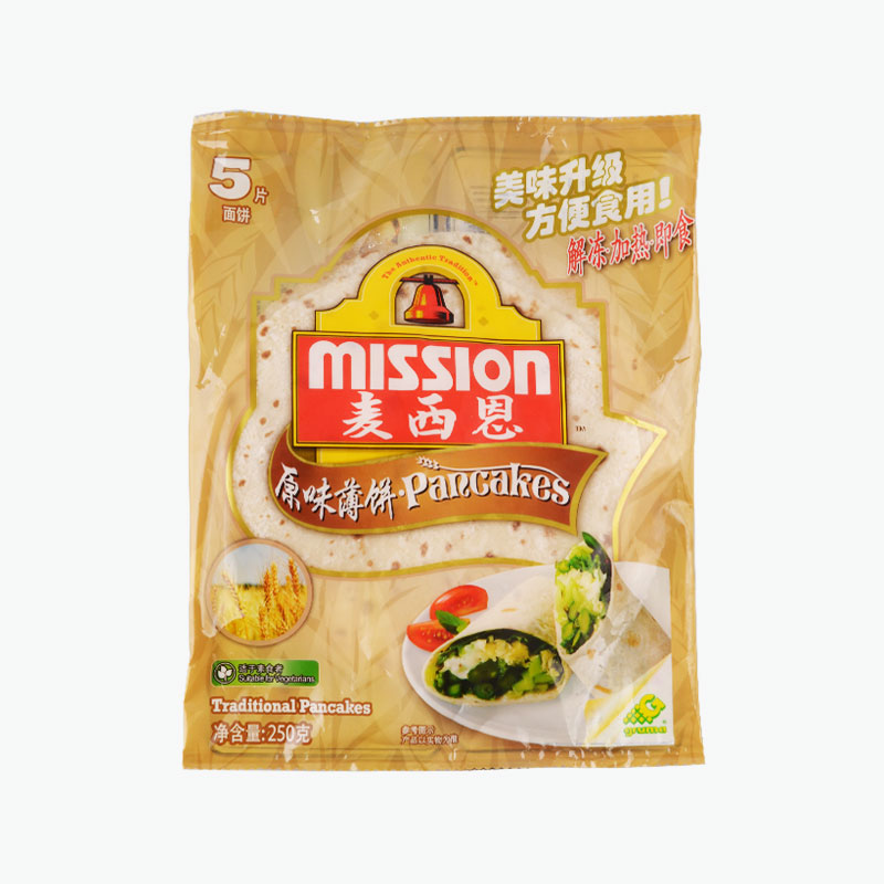 Mission Extra Thick Small Spring Onion Wraps 250g