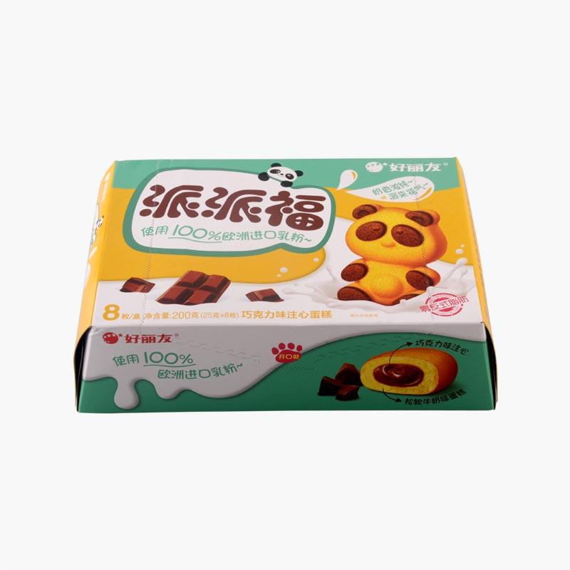 Orion Panda Cakes with Chocolate Filling x8 200g