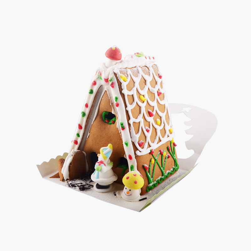 Decorated Ginger Bread House 17cm