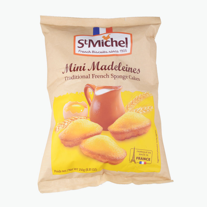 St Michel Mini Madeleines 250g