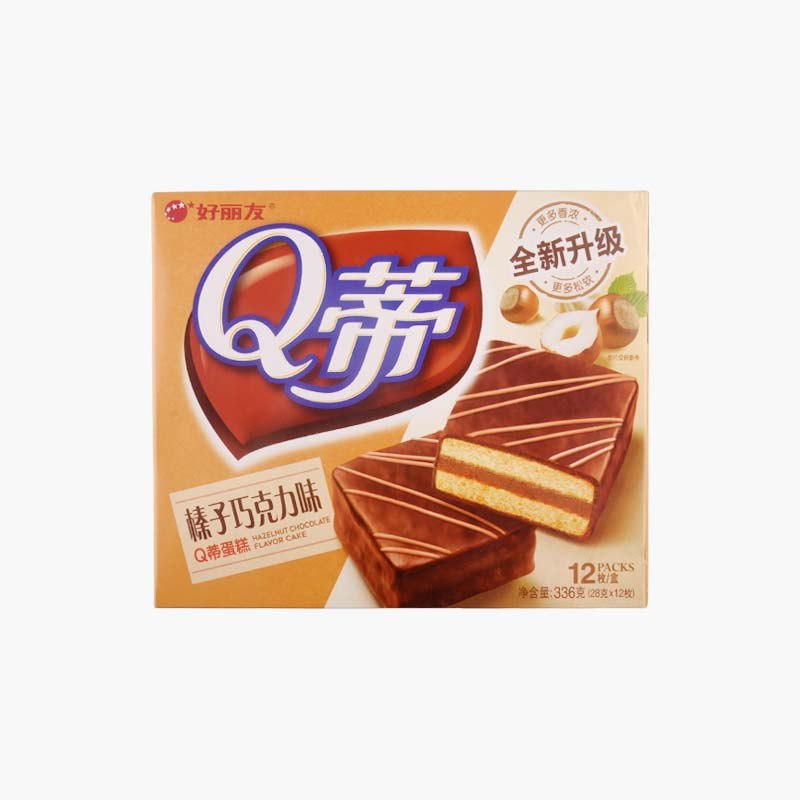 Orion Q-DI Layered Hazelnut Chocolate Cake 336g(28g*12)