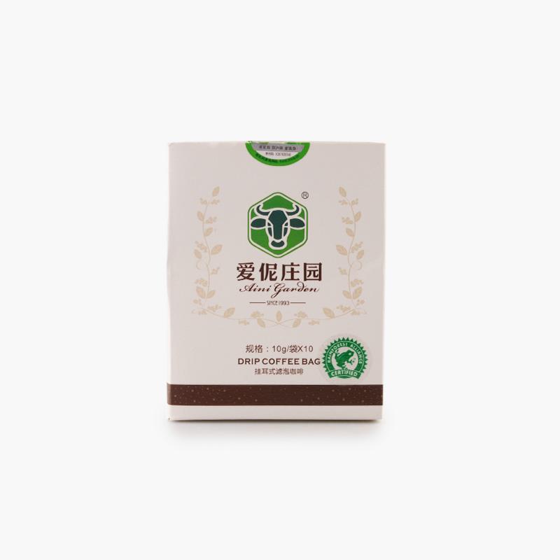 Aini Garden, Organic Drip Coffee Bags 10g x10