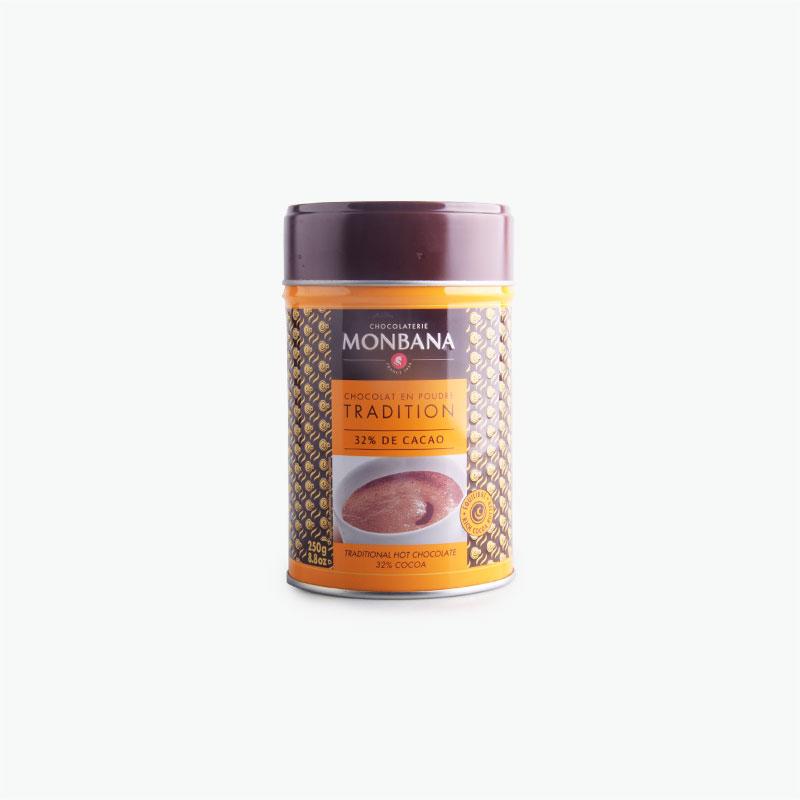 Monbana Chocolate Powder - Tradition 32% 250g