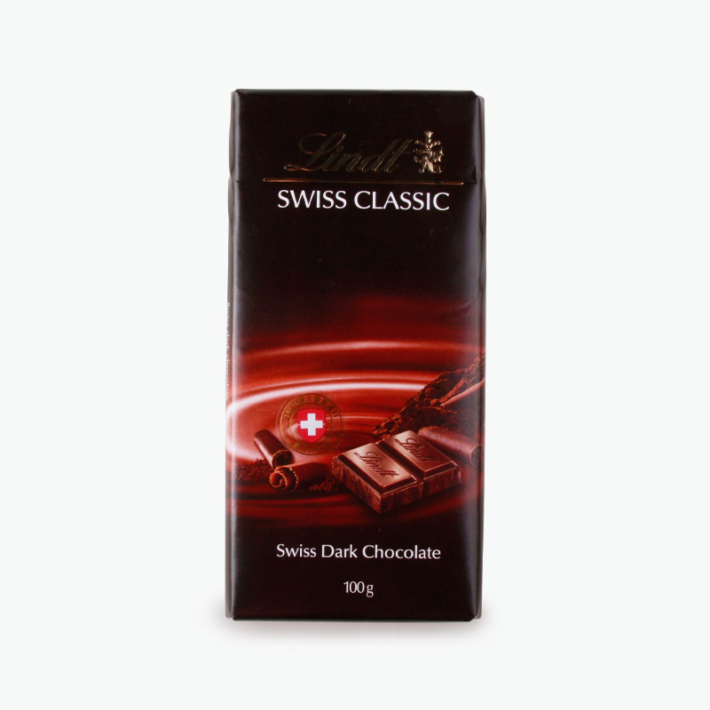 Lindt, 'Swiss Classic' Dark Chocolate 100g