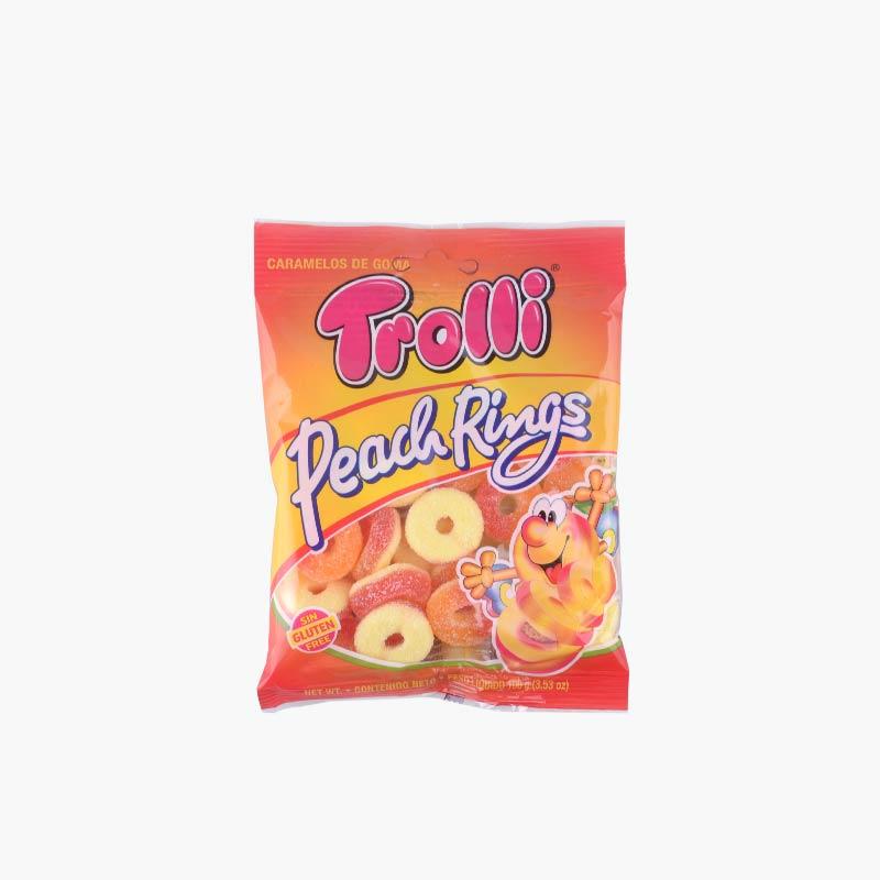 Trolli Peach Rings 100g