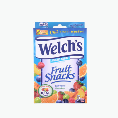 Welch's Mixed Fruit Snacks 125g