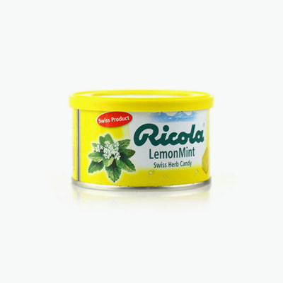 Ricola, Swiss Herb Candy (Lemon Mint) 100g