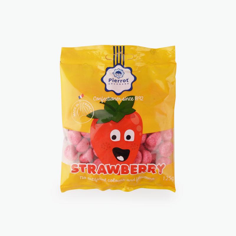 Pierrot Gourmand, Strawberry Gummy Candy 125g