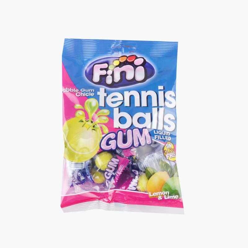 Fini  Tennis  Ball  Bubble  Gum 80g