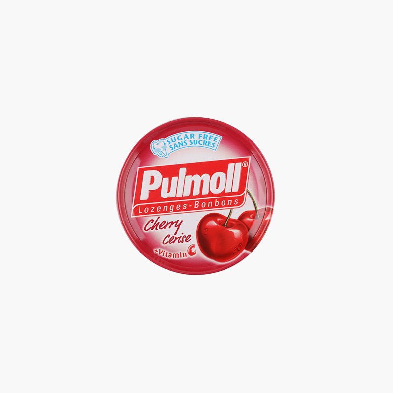 Pulmoll, Sugar-Free Lozenges (Cherry) 45g